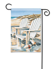 Studio-M Beach Chairs Garden Flag