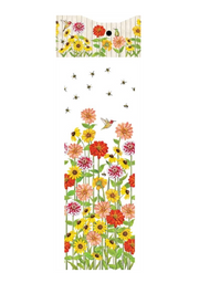 Birds & Bees 6' Birdhouse Art Pole