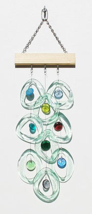 Bottle Benders Sea Glass Wind Chime