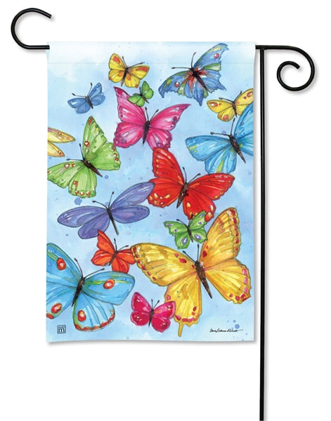 Studio-M Brilliant Butterflies Garden Flag