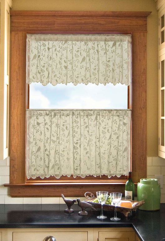 Heritage Lace Bristol Garden Curtain Collection - Cafe