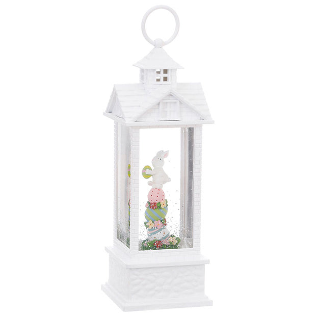 Raz Imports Bunny & Eggs Lighted Water Lantern