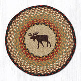 Capitol Earth Rugs Printed Chair Pad, Moose