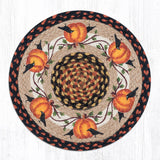 Capitol Earth Rugs Printed Chair Pad, Pumpkin Crow