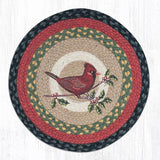 Capitol Earth Rugs Printed Chair Pad, Cardinal