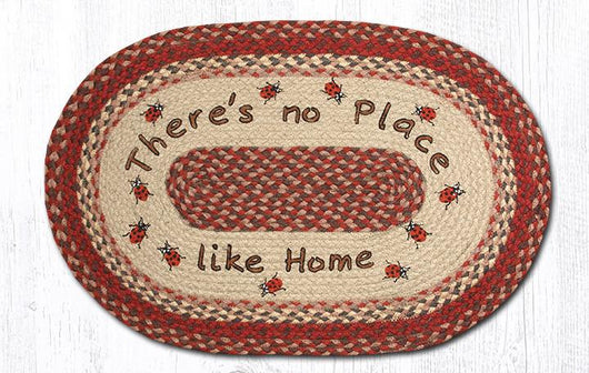 Capitol Earth Rugs No Place Like Home Oval Patch Rug