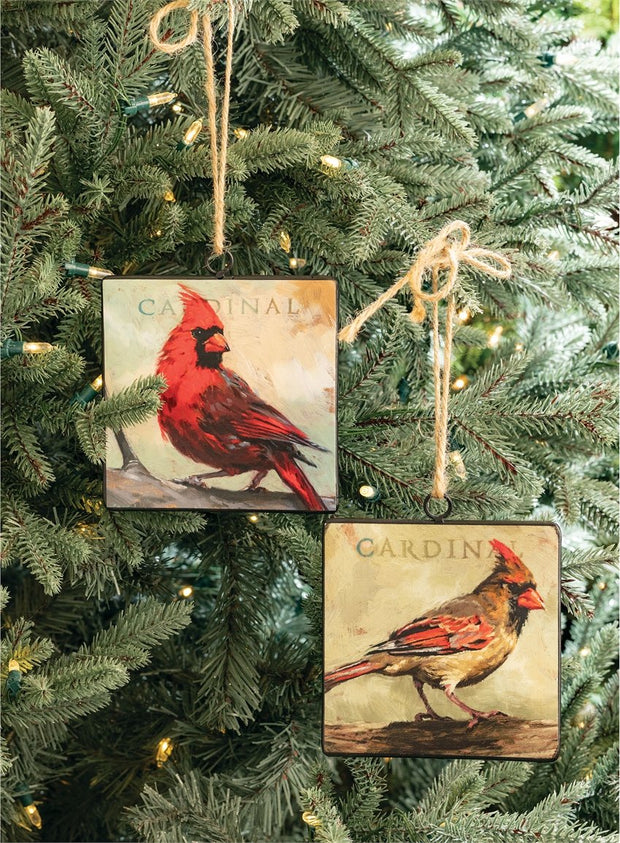 Sullivans Gifts Cardinal Ornament by Darren Gygi