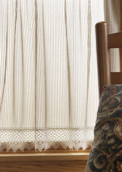 Heritage Lace Chelsea Curtain Collection - Flax
