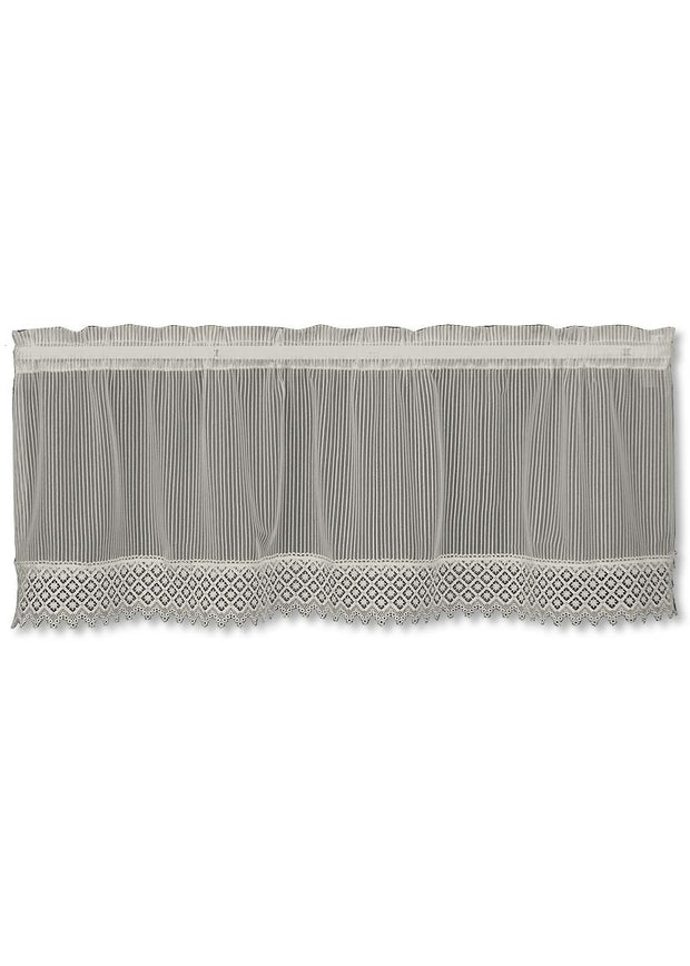 Heritage Lace Chelsea Valance - Flax