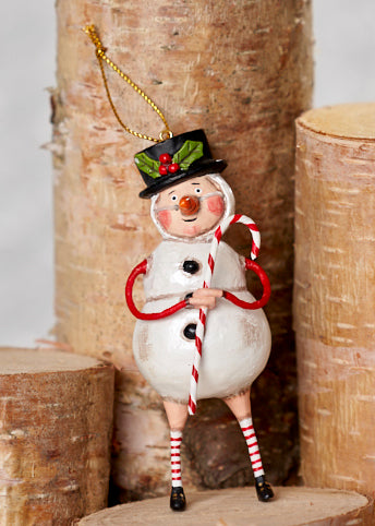 Chilly Willy Ornament by Lori Mitchell