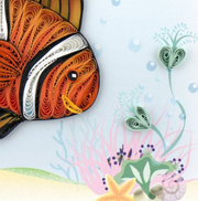 Clown Fish Quilling Card