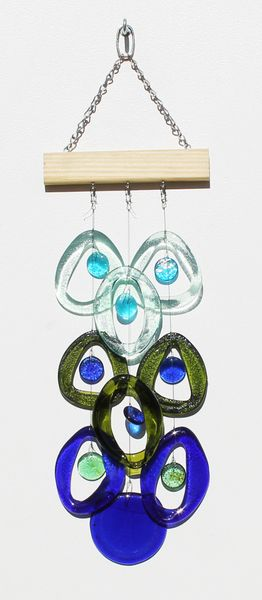 Bottle Benders Coral Reef Wind Chime