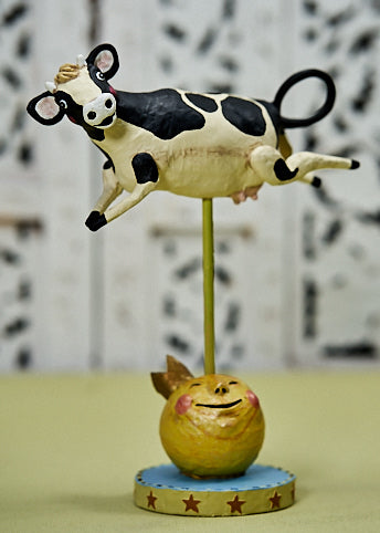 ESC & Co. Cow Jumped Over the Moon by Lori Mitchell