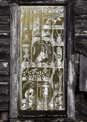 Heritage Lace Curiosities Scenic Window/Door Panel