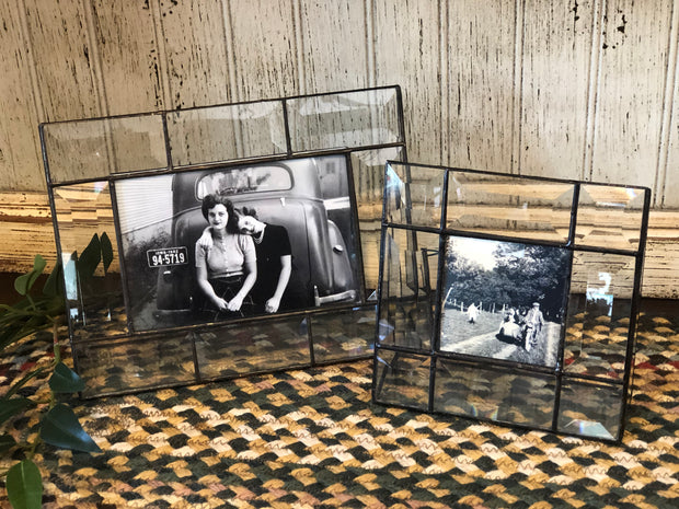 Beveled Glass Picture Frames