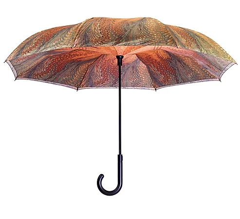 Galleria Dahlia Reverse Close Umbrella