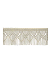 Heritage Lace Diamond Fringe Valance, Cafe