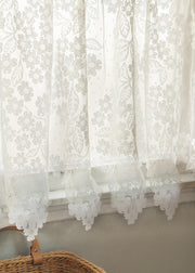 Heritage Lace Dogwood Curtain Detail