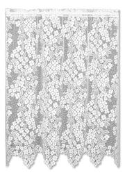 Heritage Lace Dogwood Panel, White