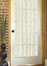Heritage Lace Dragonfly Curtain Collection Door Panel