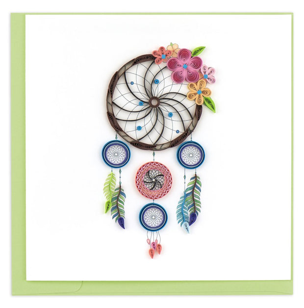 Dreamcatcher Quilling Card