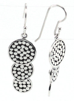 Indiri Collection Bola Triple Drop Earrings