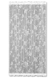 Heritage Lace English Ivy Door Panel, White