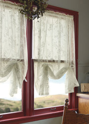 Heritage Lace English Ivy Curtain Collection, White