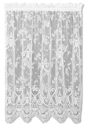 Heritage Lace English Ivy Panel, White