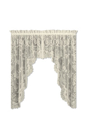 Heritage Lace English Ivy Swag Pair, Ecru