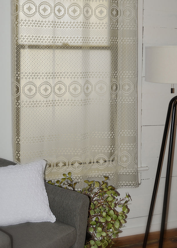 Heritage Lace Eureka! Curtain Collection, Cafe