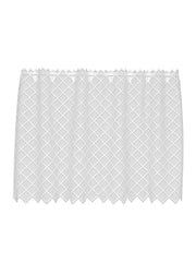 Heritage Lace Filet Crochet Tier, White