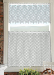 Heritage Lace Filet Crochet Curtain Collection, White