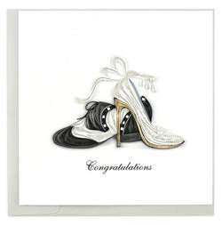First Dance Quilling Card