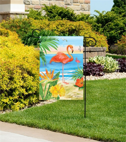 Studio-M Flamingo Beach Garden Flag