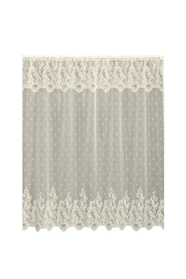 Heritage Lace Floret Shower Curtain, Ecru