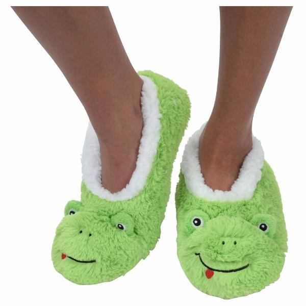 Frog Furry Foot Pals Snoozies for Toddlers