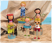 Summer Collection, Lori Mitchell Figurines