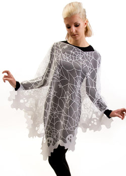 Heritage Lace Ghost Poncho