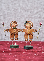 ESC & Co. Gingerbread Boy & Girl by Lori Mitchell