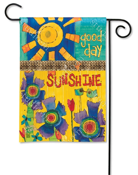 Studio-M Good Day Sunshine Garden Flag, Lyric Project Collection, Lennon/McCartney