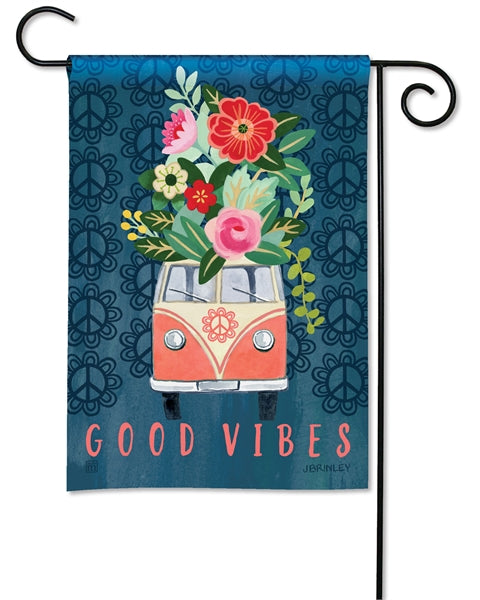 Studio-M Good Vibes Garden Flag