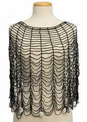 Heritage Lace Gothic Poncho