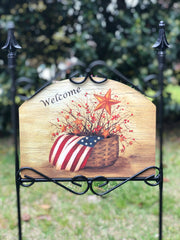 Heritage Gallery American Dream Garden Sign