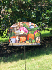 Heritage Gallery Autumn Farmer's Market Garden Sign