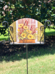 Heritage Gallery Autumn Window Box Garden Sign