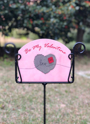 Heritage Gallery Be My Valentine Garden Sign