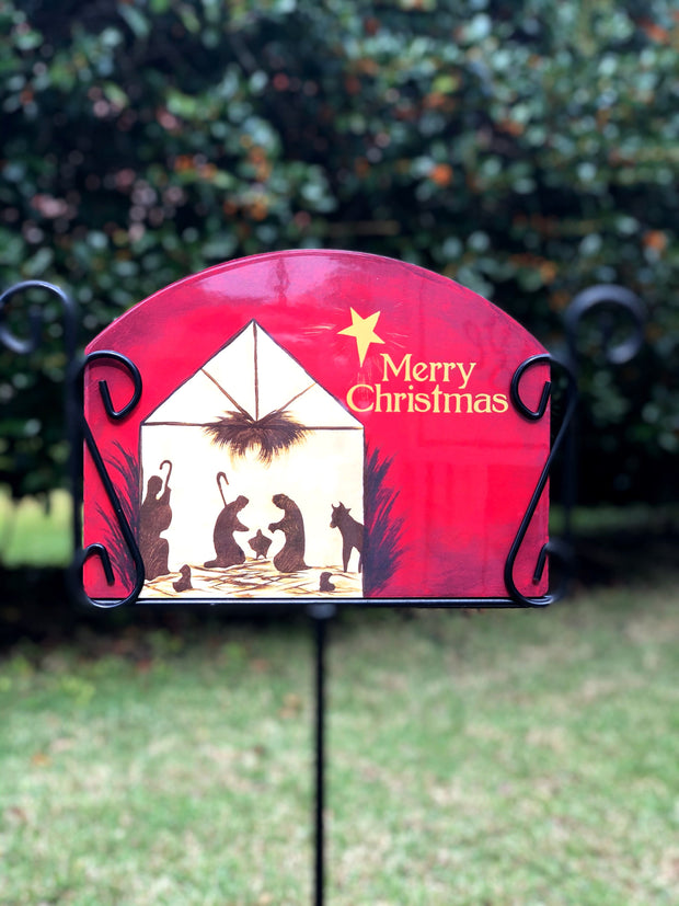 Heritage Gallery First Christmas Garden Sign