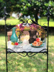 Heritage Gallery Gathering Table Garden Sign