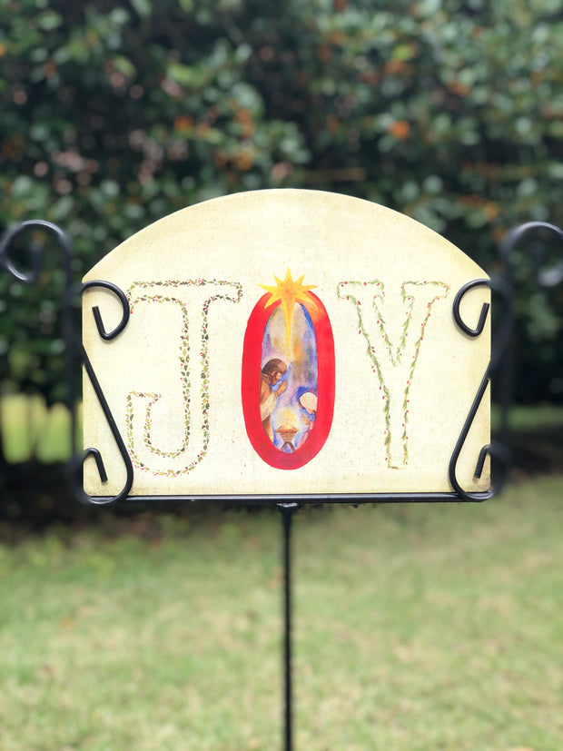 Heritage Gallery Joy Garden Sign